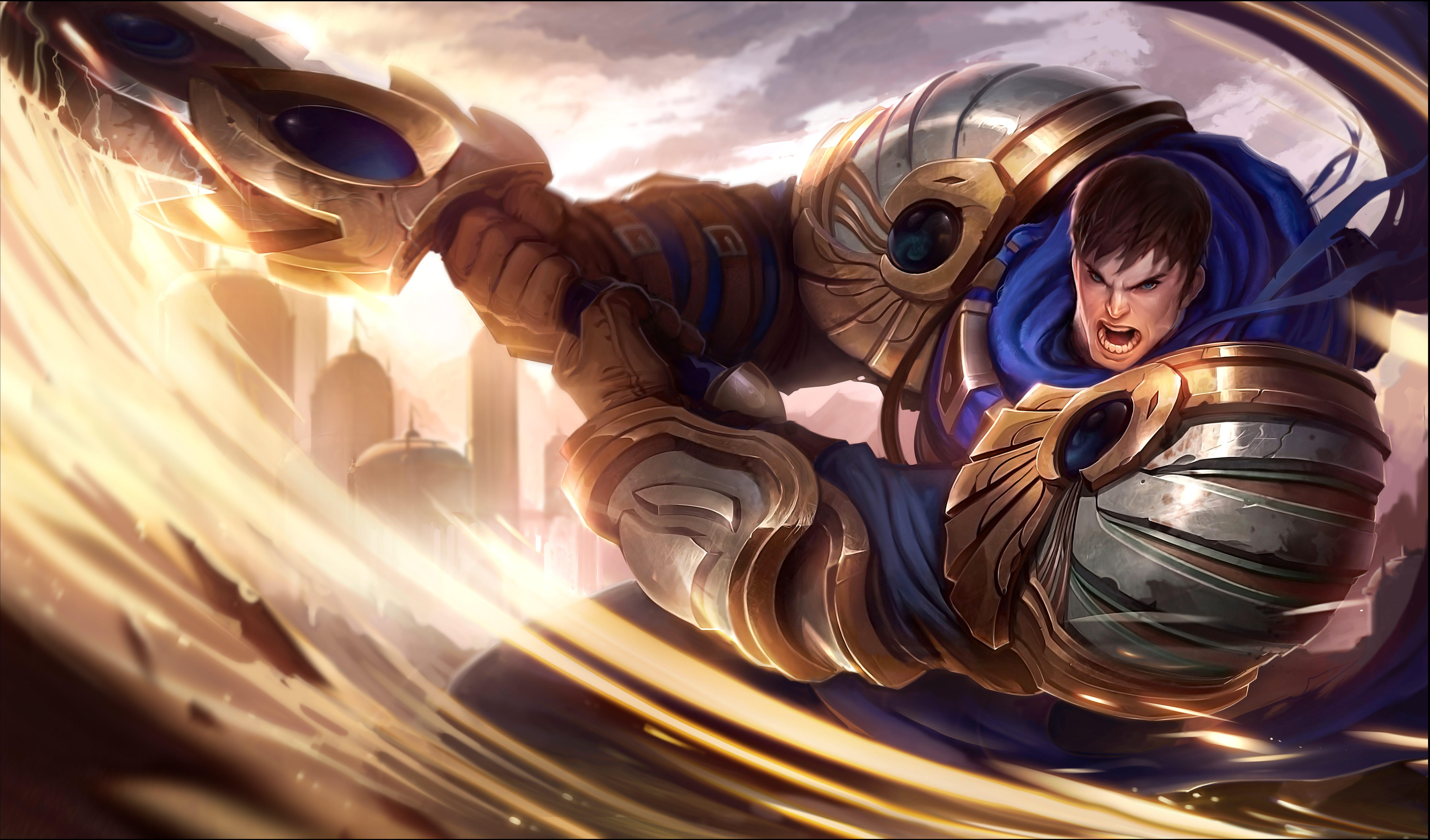 Garen. League of Legends.