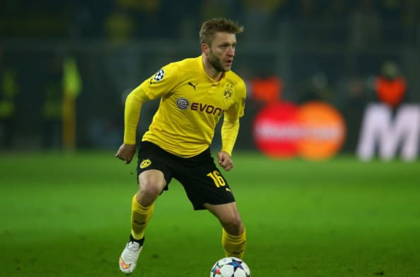 Kuba is at full play for Dortmund while he was in the starting XI