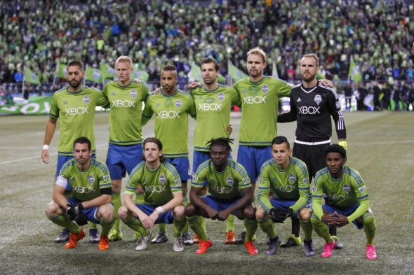 Sounders lineup starting XI