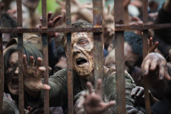 Walkers - The Walking Dead - Gene Page/AMC