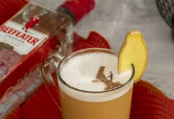 best gin cocktails including Beefeater gin apple cider