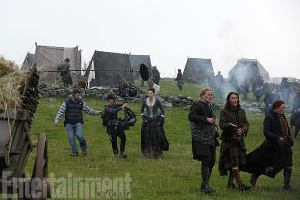 "Check Out Images From the New ""The Making Of Outlander The"