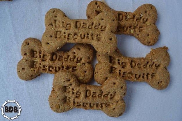 Big Daddy Biscuits. Photo credit: Lauren Janis of Big Daddy Dog Biscuits.