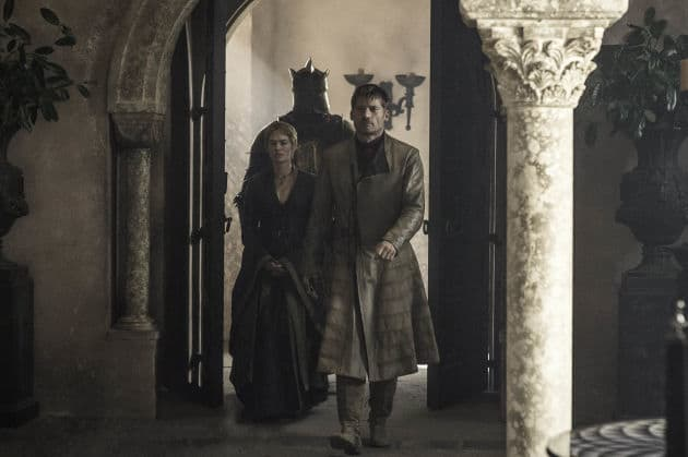 Jaime, Cersei, and the Mountain