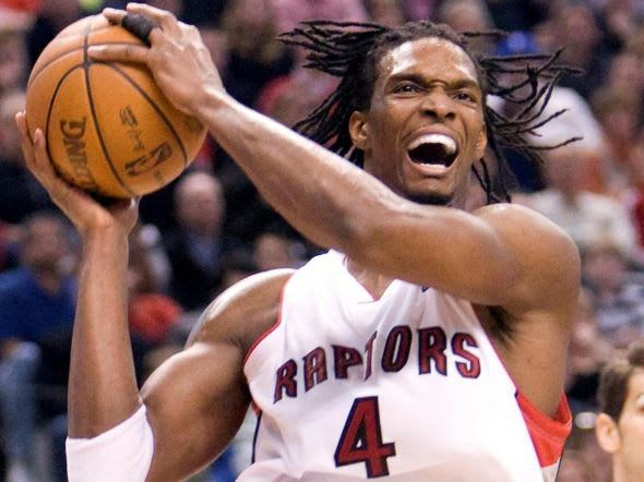 Chris Bosh is Toronto's all-time leading scorer and rebounds and was a five-time All-Star with the Raptors.