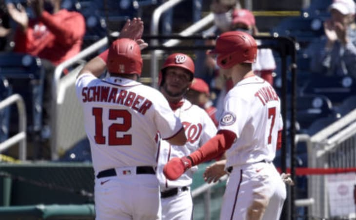 The Nationals swept the Marlins over the weekend.