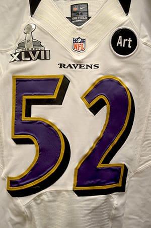 Baltimore Ravens Super Bowl 2013 Jersey (Photo)