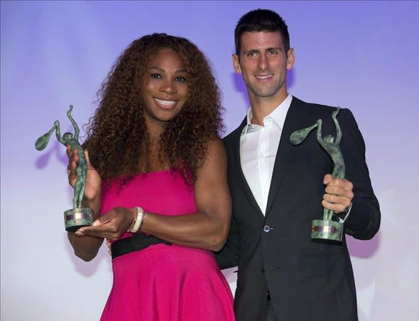 Serena Williams And Novak Djokovic Named 2013 Itf World Champions