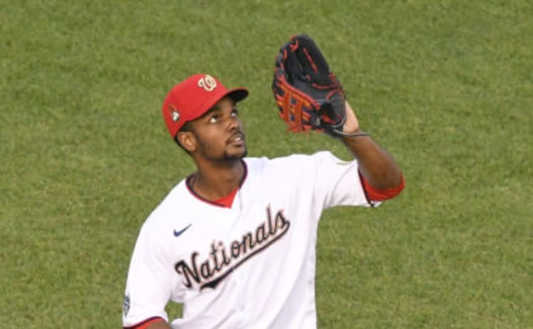 Michael A. Taylor looks for a new employer after being cut loose by the Washington Nationals.