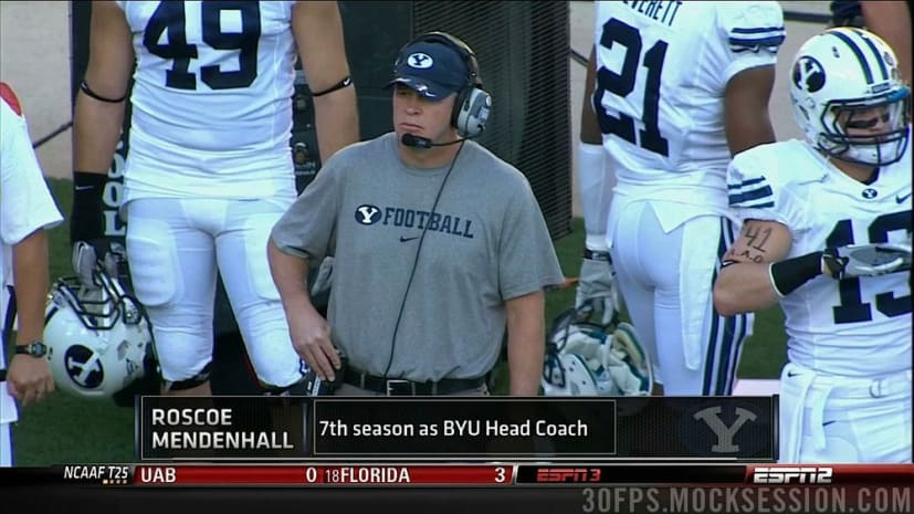Interview with BYU Coach Bronco Mendenhall