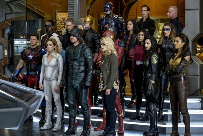 Arrowverse superheroes