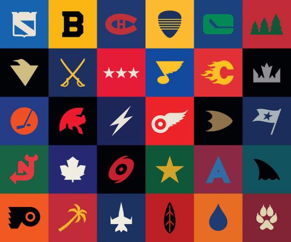 nhl logos