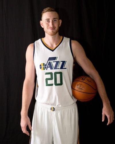 Utah Jazz Gordon Hayward