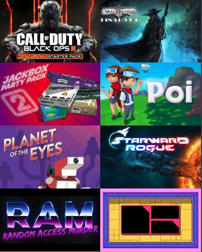 August 2016 Humble Monthly Bundle