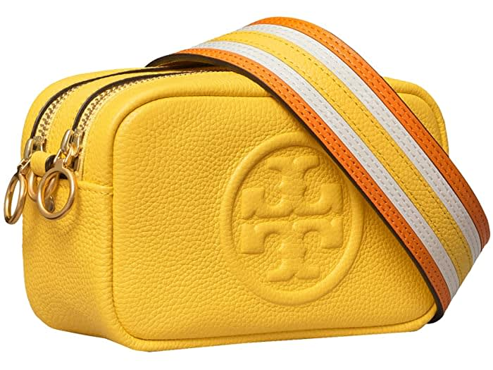 Tory Burch Perry Bombe Pieced Strap Mini Bag
