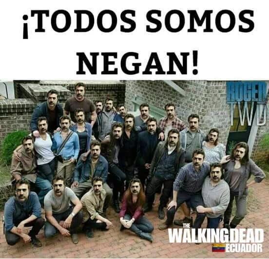 The Walking Dead We Re All Negan Memes