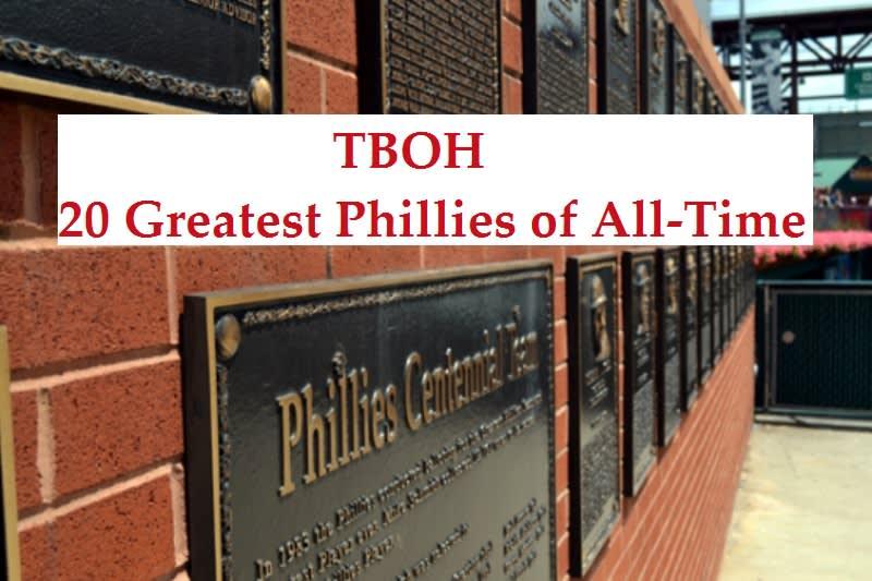 20 Greatest Phillies