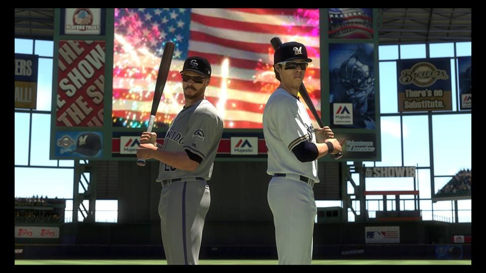 MLB the Show 18 Rockies vs Brewers