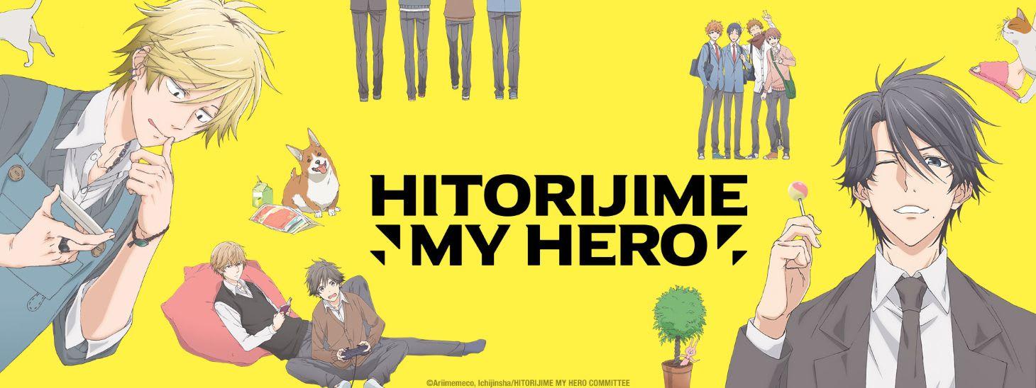 Hitorijime My Hero anime poster via Sentai Filmworks.