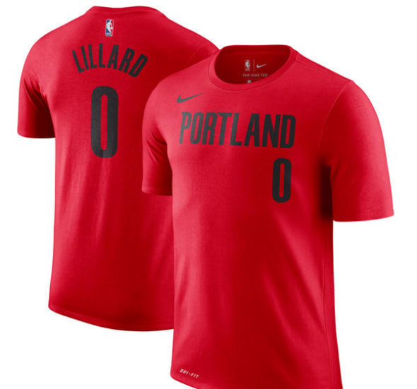 Majestic Clyde Drexler Portland Trailblazers Black Throwback Jersey Name and Number T-Shirt