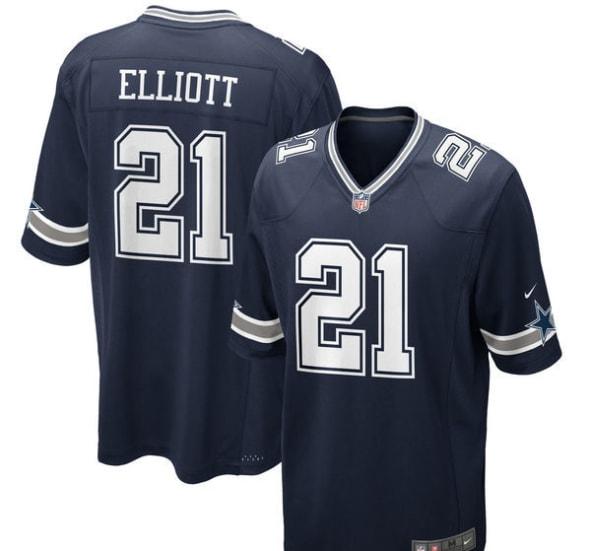 Dallas Cowboys Ezekiel Elliott Onesie Jersey Shirt Bodysuit