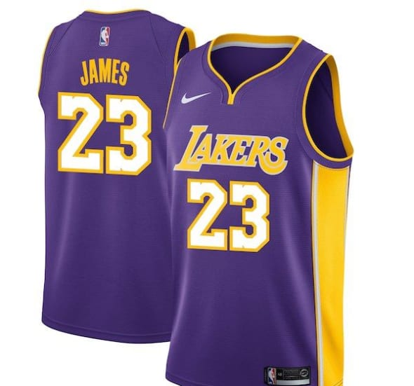 Los Angeles Lakers: Get your LeBron James jersey now