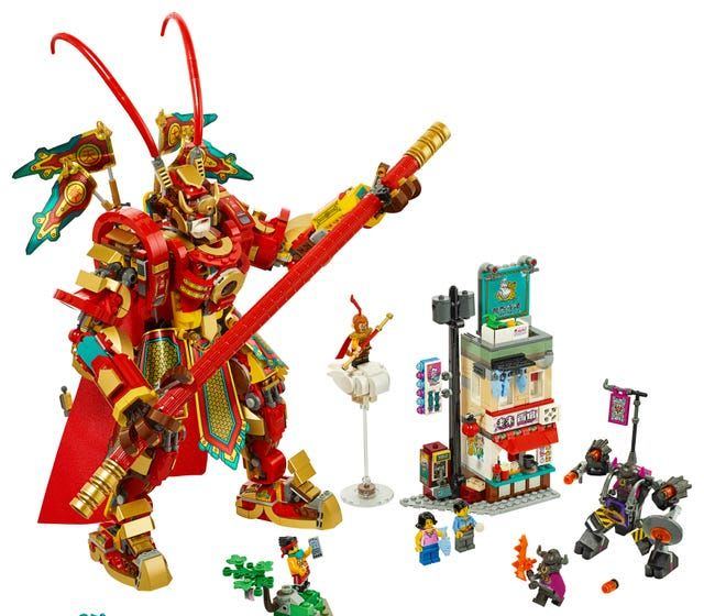 Monkey King Warrior Mech Lego Set