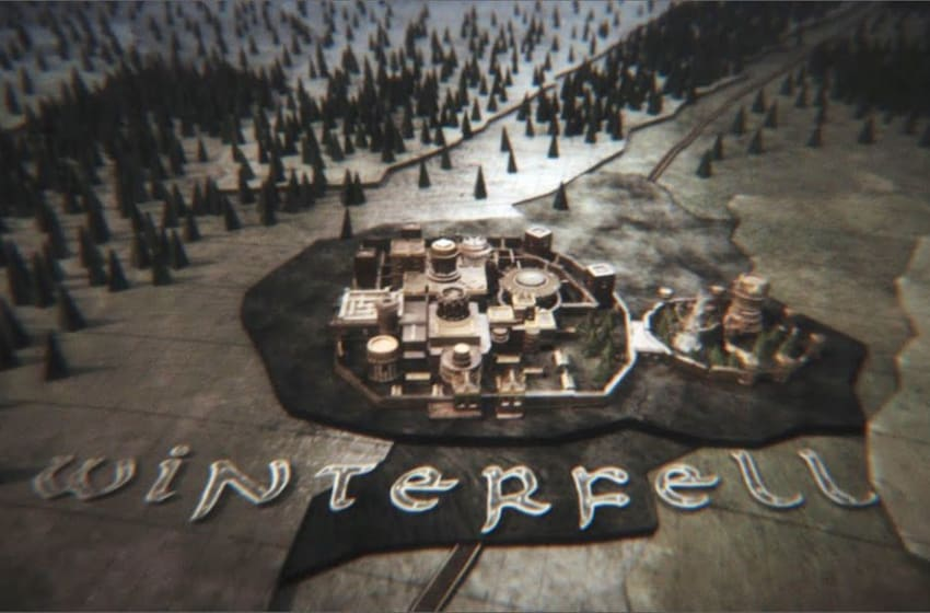 Image result for map of westeros intro