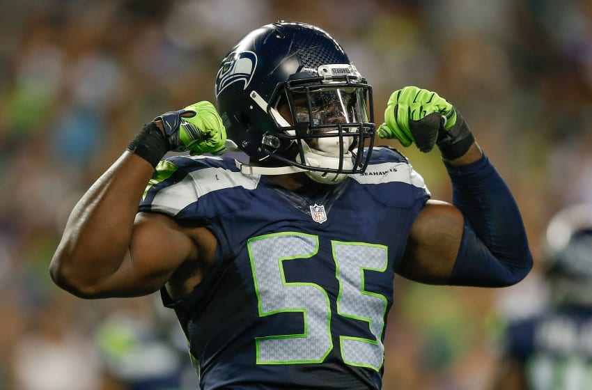 Frank Clark of the Seattle Seahawks