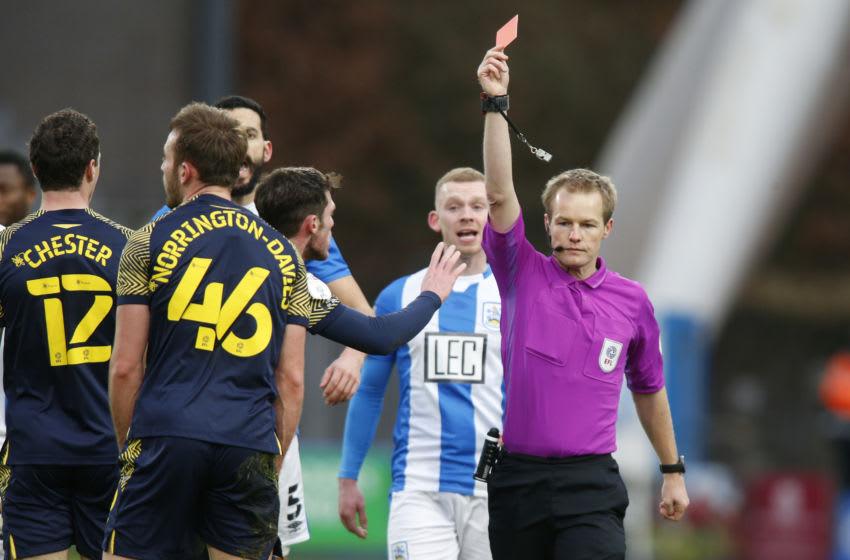 Rhys Norrington-Davies red card