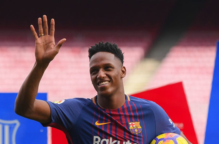 Barcelona Looking Forward To Yerry Mina S Famous Dances