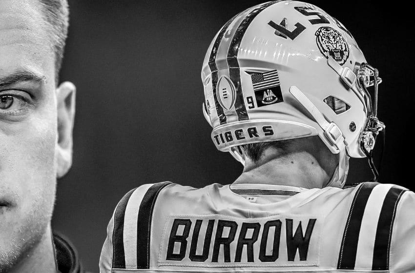 Joe Burrow The Plains Bengals LSU