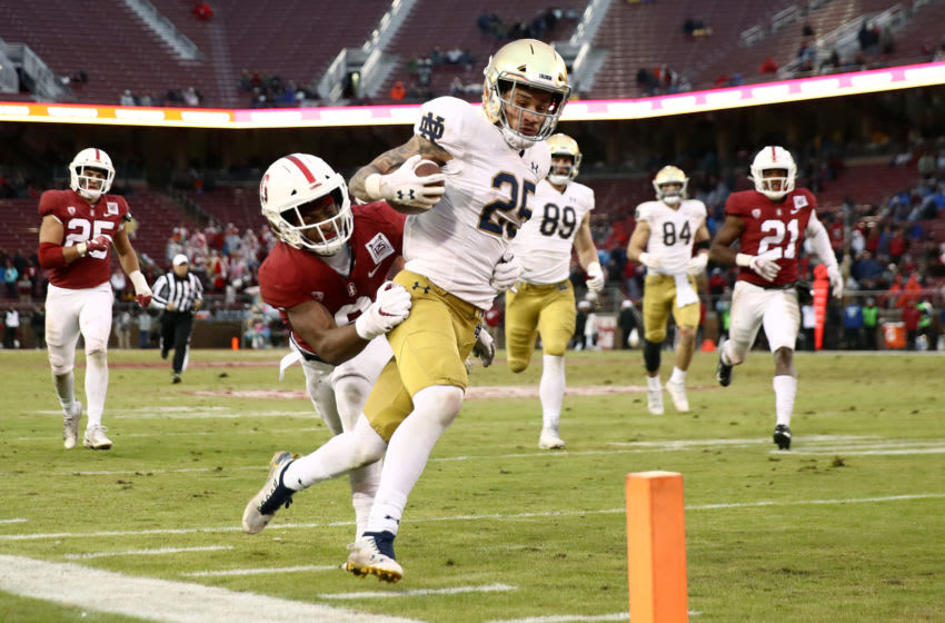 Breakout Notre Dame football players