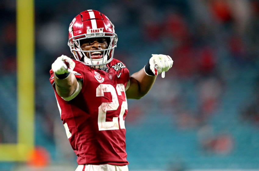 Najee Harris, Alabama football, 2021 NFL Draft