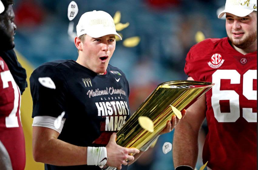 Mac Jones, Alabama football