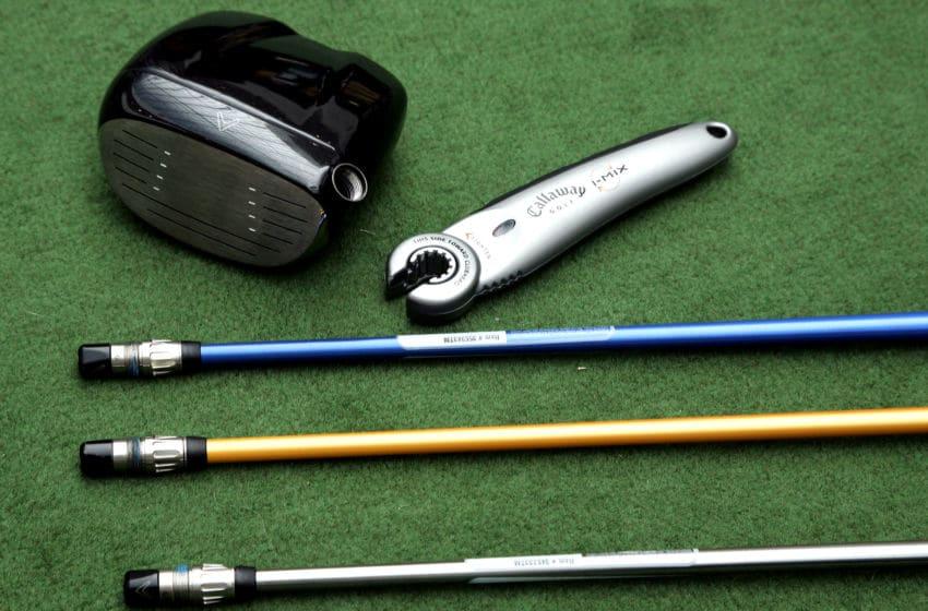 Various club shafts