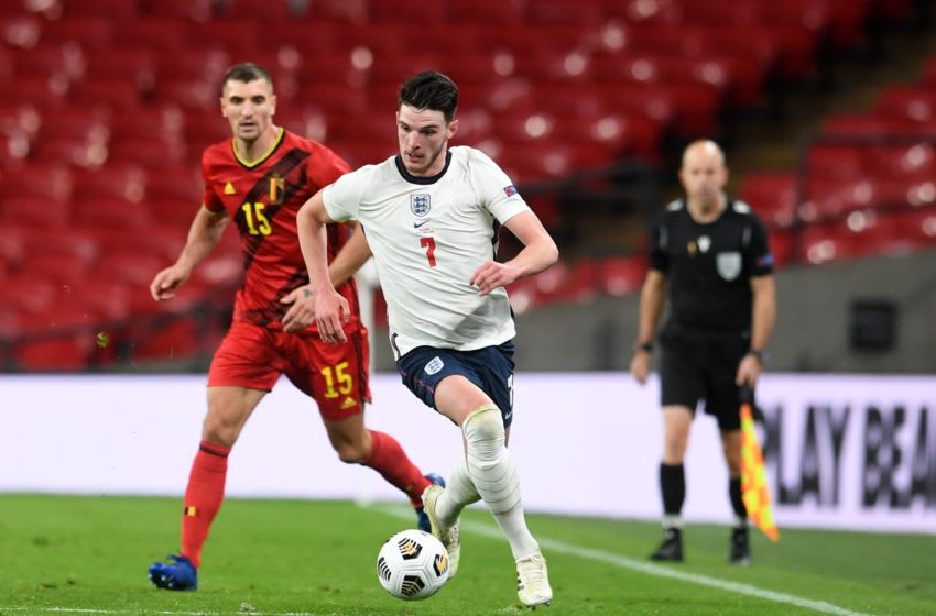 West Ham's Declan Rice has cemented his spot playing in England's midfield.