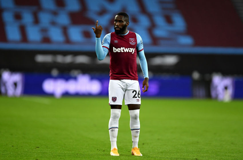 West Ham's Arthur Masuaku has been in great form this season.
