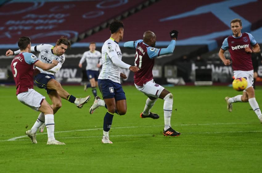 West Ham concede against Villa.