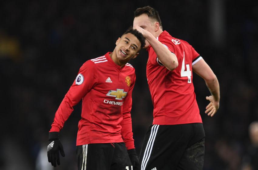 Jesse Lingard & Phil Jones, Manchester United.