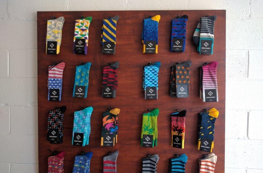 Sock Fancy men's socks. Photo credit: Tiffany M. Davis for Local POV.