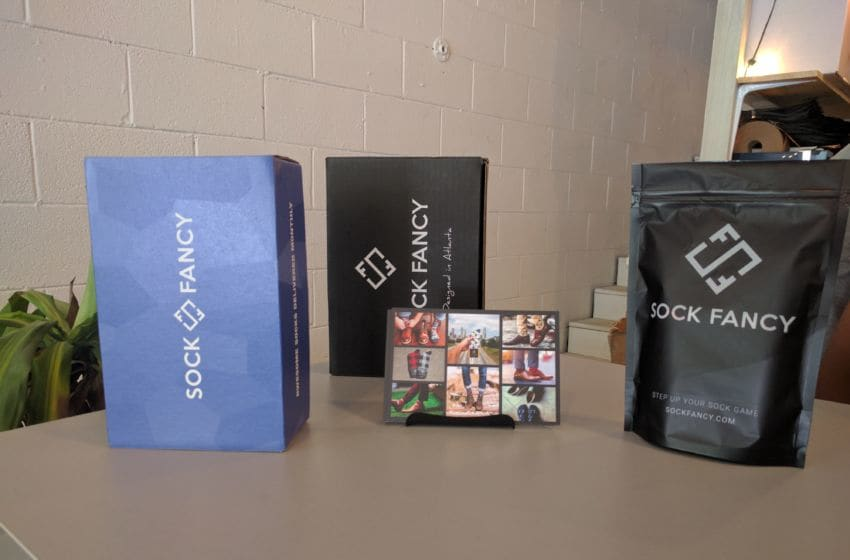 Sock Fancy gift bags. Photo credit: Tiffany M. Davis for Local POV.