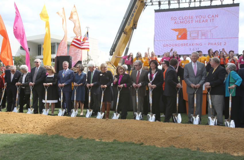 DPC Steinmetz Hall Groundbreaking General, photo provided by Dr. Phillips Center