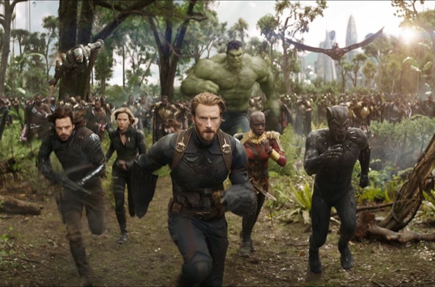 Disney movies - Avengers - Disney- Netflix