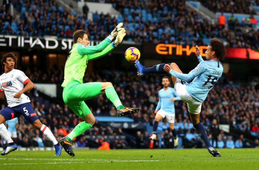 Asmir Begovic - Manchester City v AFC Bournemouth - Premier League