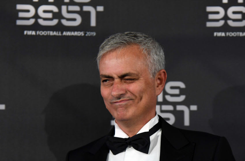 Former Real Madrid Manager Jose Mourinho