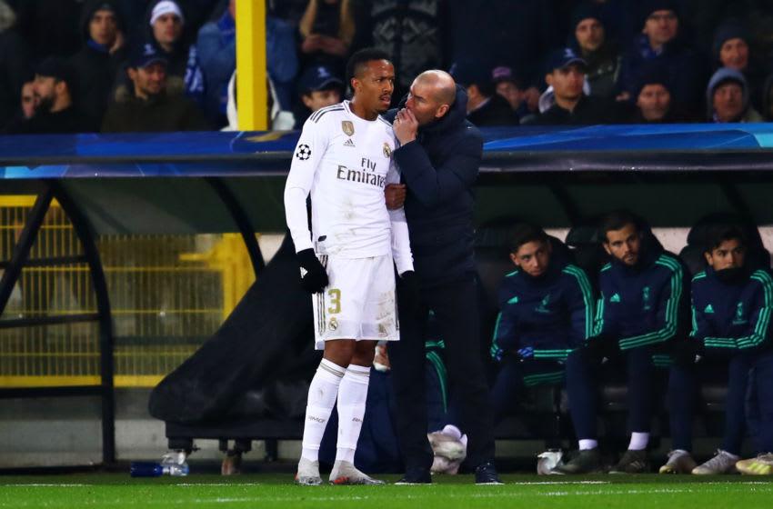 zidane and militao