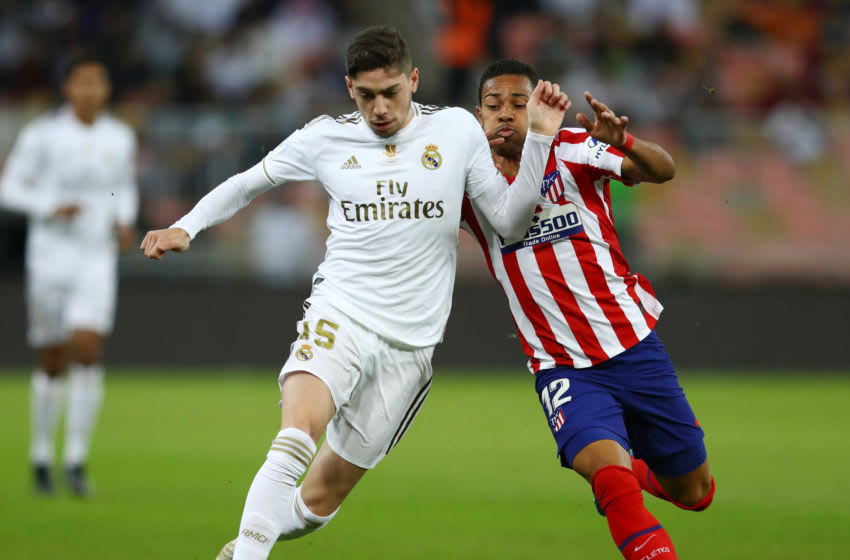 Real Madrid CM Fede Valverde