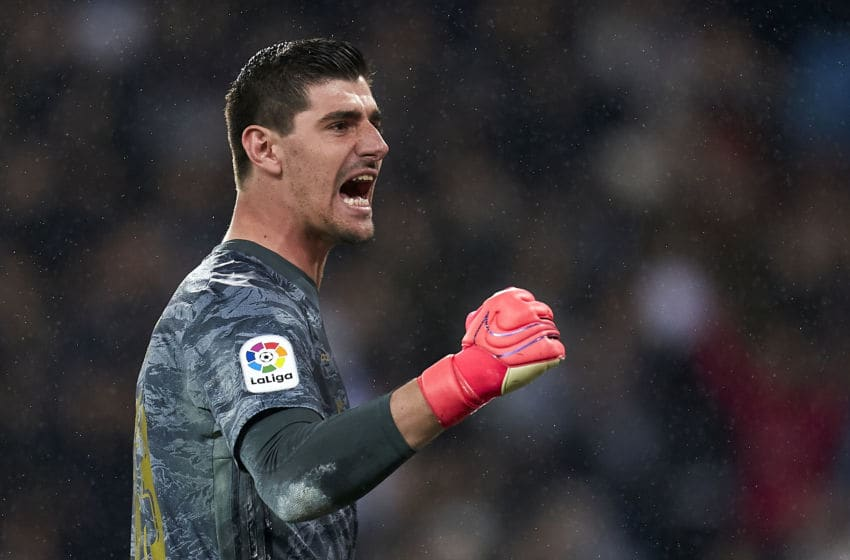 Real Madrid GK Thibaut Courtois