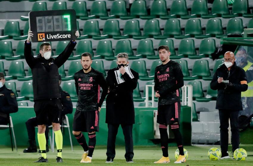 Eden Hazard, Federico Valverde, Real Madrid